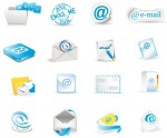 Modern Mail icons