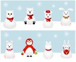 red-and-white-christmas-animals