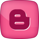 Blogger social  icon hover pink