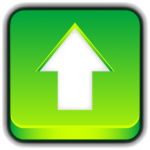 Green Button Upload icon