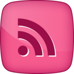 RSS social  icon hover pink