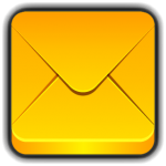 Yellow Email icon