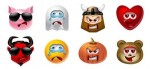 multiple smileys emoticons avatar icons