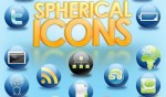 spherical application icons