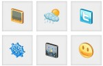 glossy 3d icons