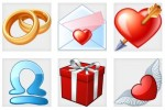 dating web icons