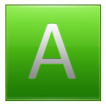 Letter A lg