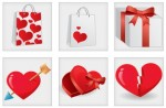 love and breakup icons