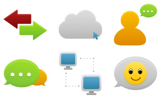 pretty office icons